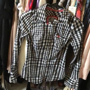 Button down guess shirt